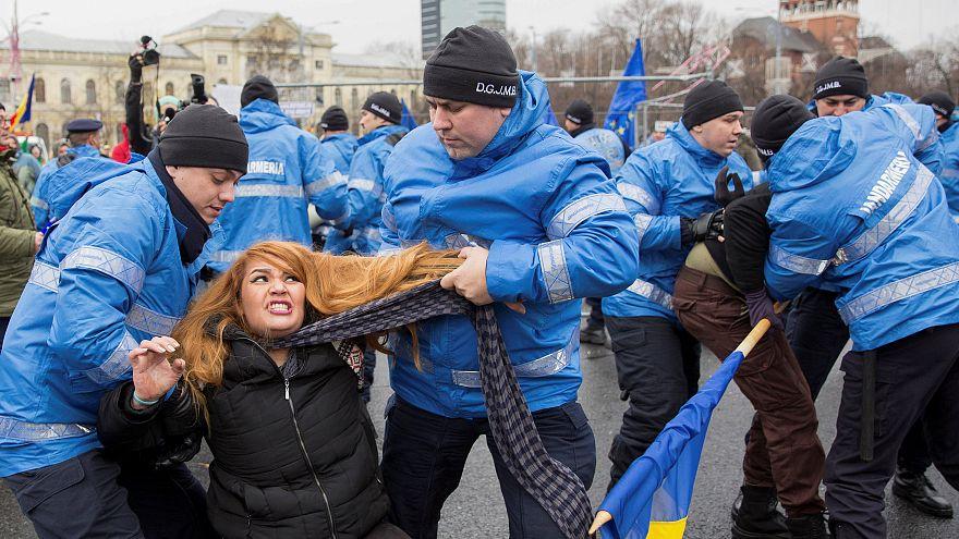 Bukarest: Proteste gegen Weihnachtsmarkt vor Regierungssitz