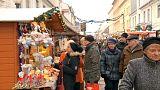 À Potsdam, le marché de Noël imperturbable