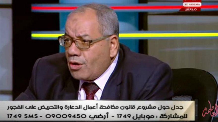 سه سال زندان برای وکیل مصری بخاطر تشویق به تجاوز در رسانه عمومی