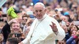 البابا يحذر زعماء العالم من أثار الاسلحة النووية
