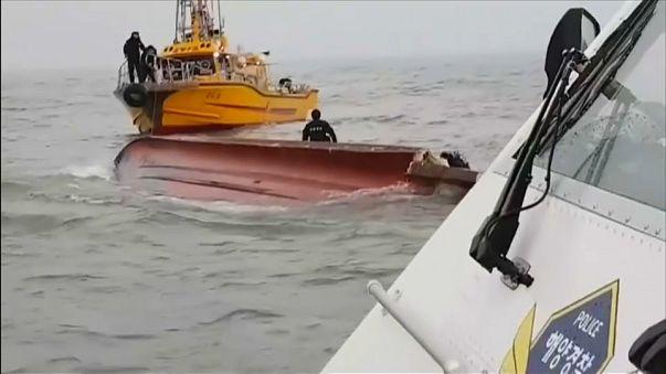 Pescaria mortal na Coreia do Sul
