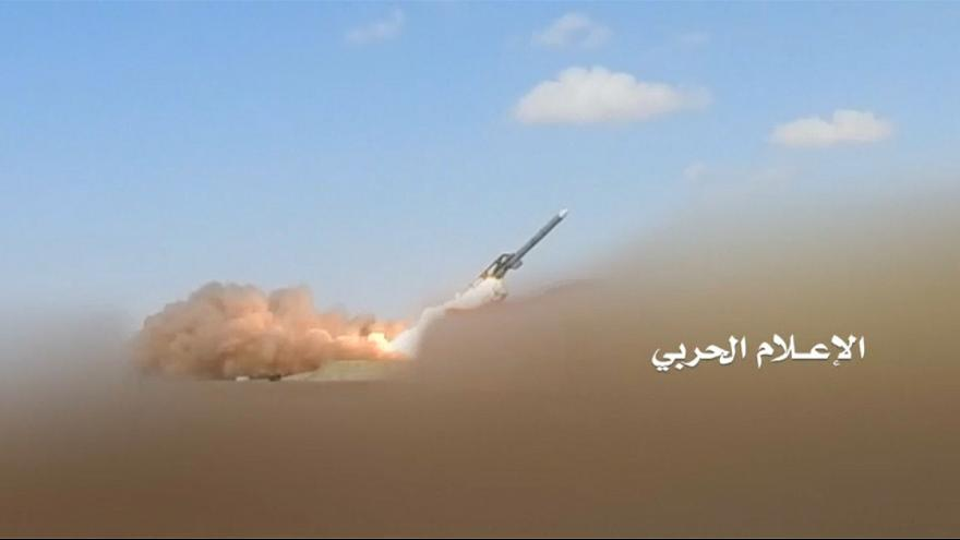حوثیهای یمن 'ویدئوی حمله موشکی به نیروگاه اتمی امارات' را منتشر کردند