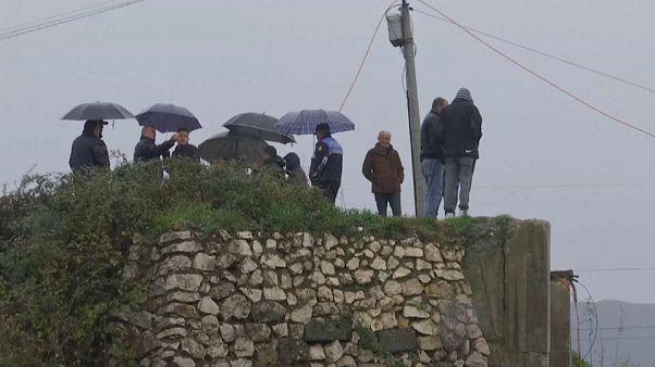 El temporal causa estragos en Albania