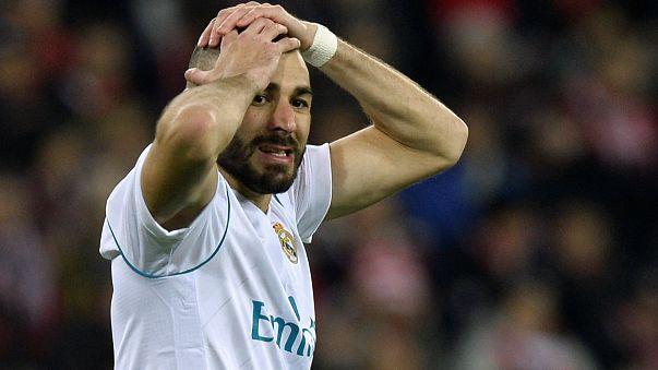 Le Real Madrid en panne de but
