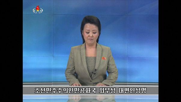 Nouvelles menaces de la Corée du Nord