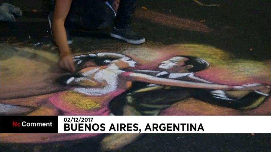 A festa do tango em Buenos Aires