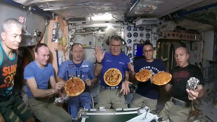 La pizza dello spazio