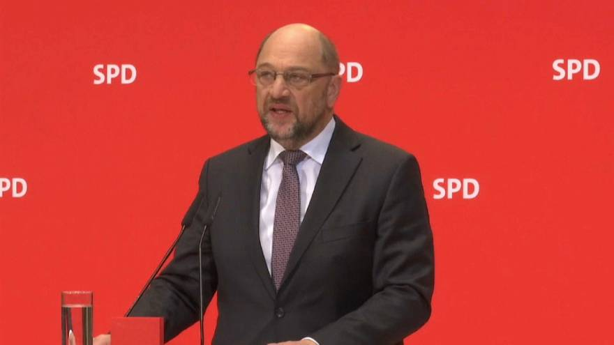 Leader of SPD Martin Schulz