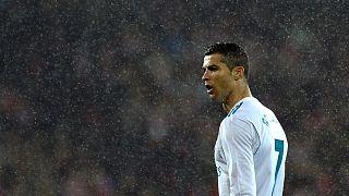 Cristiano Ronaldo ainda só marcou dois golos em 10 jogos na Liga espanhola