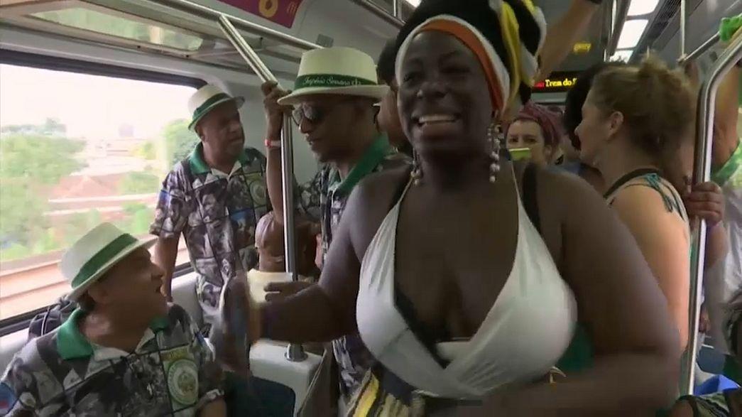 Sambazüge in Brasilien