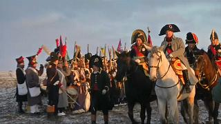 Schlacht von Austerlitz nachgestellt