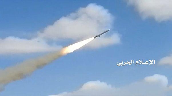 Huthi veröffentlichen Bilder von Raketenabschuss