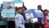 Arjantin'de kayıp denizaltı protestosu