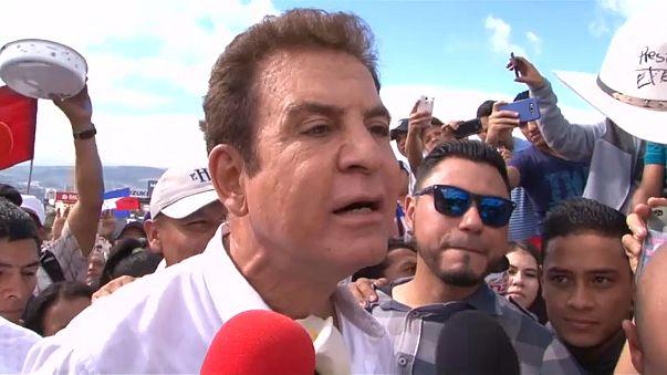 """Honduras: l'opposizione di Nasralla in strada contro """"la frode"""""""