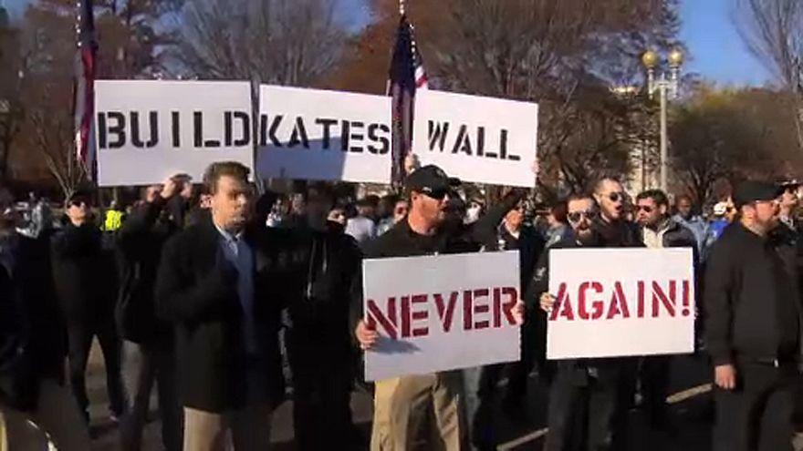 Egymásnak feszültek a tüntetők Washingtonban