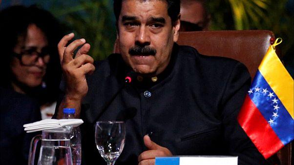 O πρόεδρος της Βενεζουέλας, Νικολάς Μαδούρο