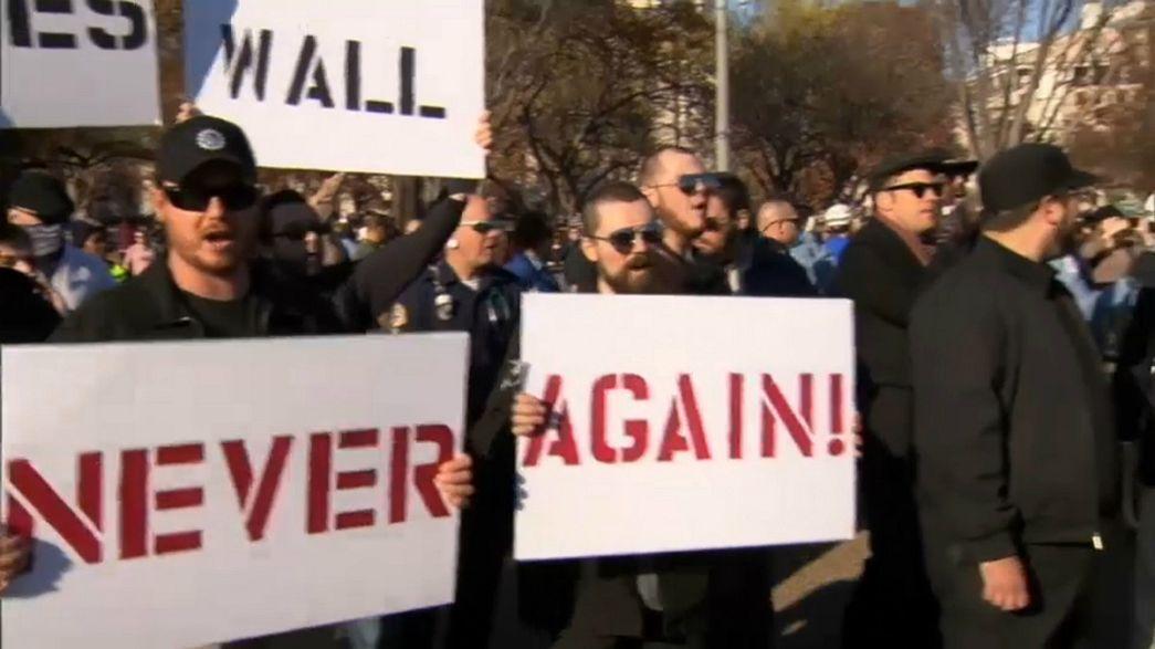 Beyaz Saray önünde gösteri gerginliği