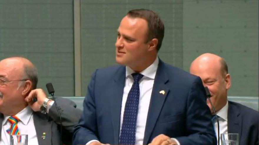 Australian MP proposes to partner during parliament session
