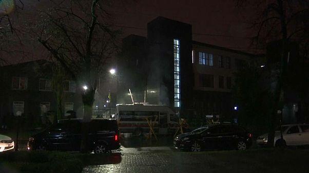 Снята блокада телеканала NewsOne в Киеве