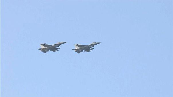 Крупнейшие военно-воздушные учения в Южной Корее