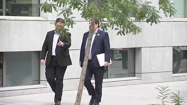 Лидеров каталонских сепаратистов не выпустили под залог