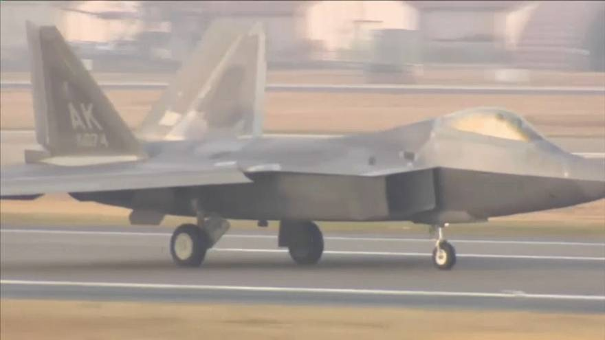 EEUU y Corea del Sur lanzan sus mayores maniobras aéreas conjuntas