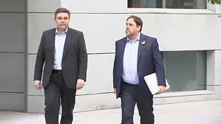 Ελεύθεροι 6 Καταλανοί πρώην υπουργοί