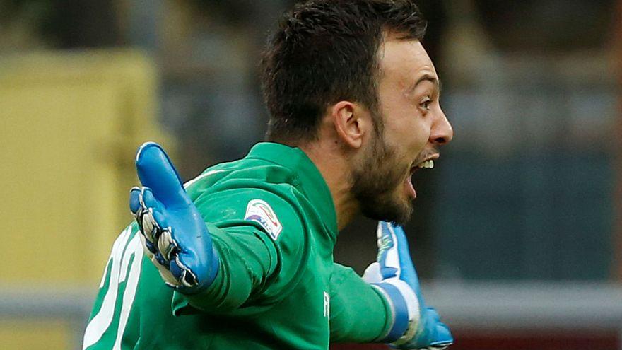 Football : le gardien de Benevento héros du Calcio