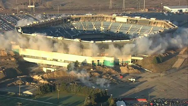 Michigan, fallisce il tentativo di demolizione: lo stadio resta in piedi