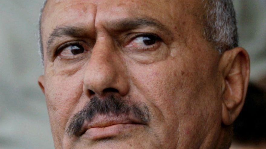 Eski Yemen Cumhurbaşkanı Ali Abdullah Salih öldürüldü