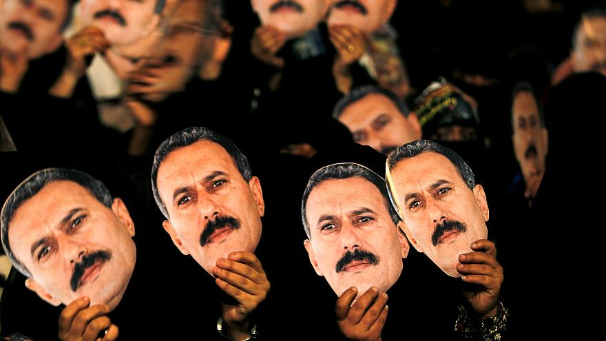 Ein Mann mit vielen Gesichtern: Ex-Präsident Saleh