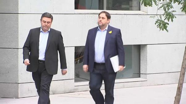 Catalunha: Junqueras e Forn ficam em prisão preventiva