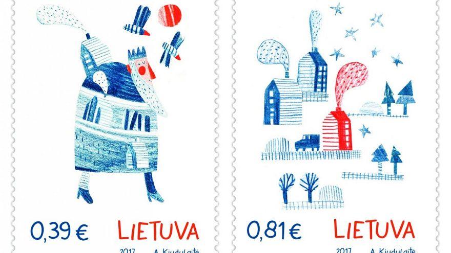 Briefmarken mit Lebkuchengeruch
