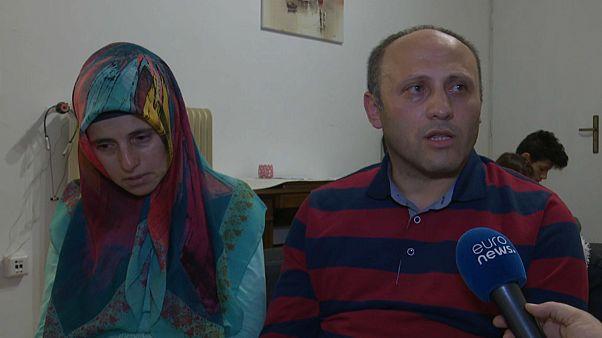 Meryem und Tahsin sind aus der Türkei geflohen.