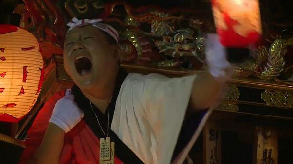 Begeisterung pur beim Chichibu-Fest