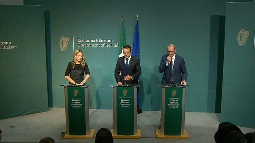 El Primer Ministro de Irlanda comparece ante la prensa