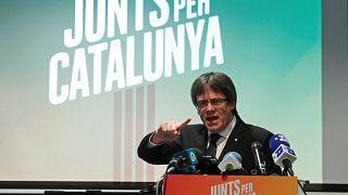 A katalán választásokig Belgiumban maradhat Puigdemont