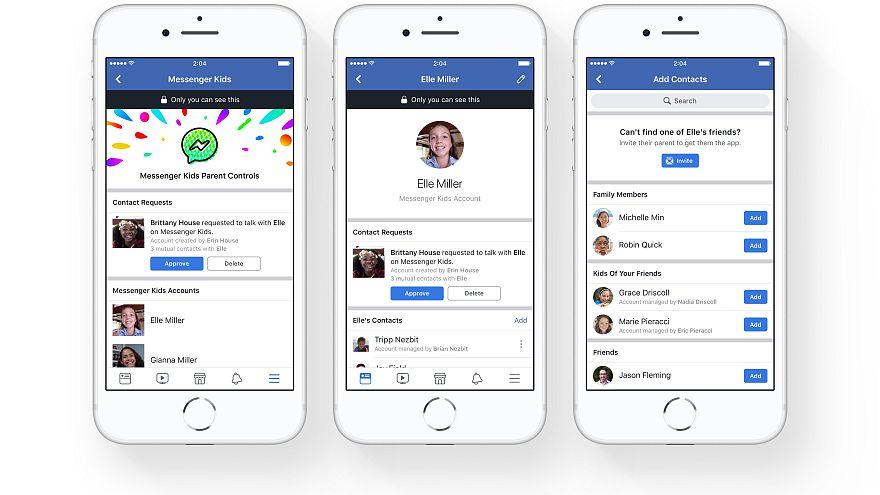Facebook bringt Chat für Kinder unter 13 – mit elterlicher Kontrolle