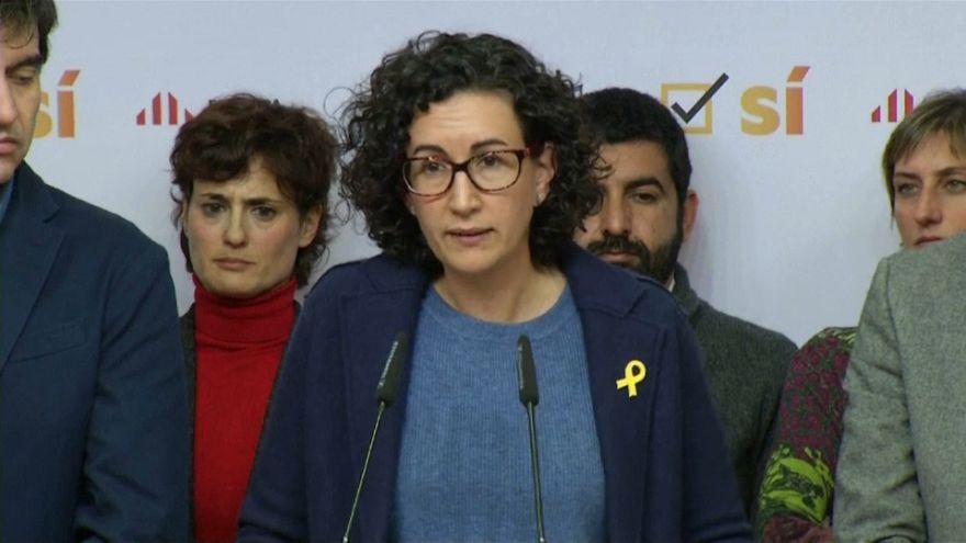 Marta Rovira comparece en la sede de ERC