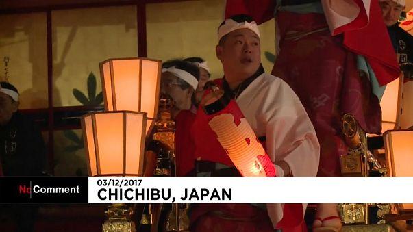 Festival de Chichibu no Japão juntou milhares de pessoas
