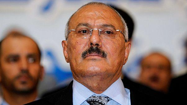 Eski Yemen Cumhurbaşkanı Husilerden kaçamadı