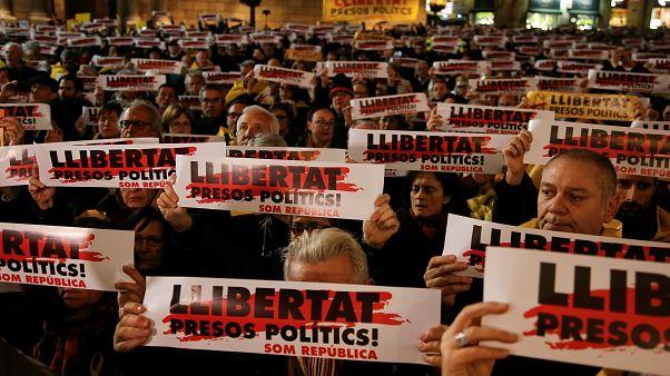 6 katalanische Ex-Minister wieder frei