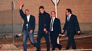 Cataluña: 6 exconsellers libres, pero Junqueras sigue preso
