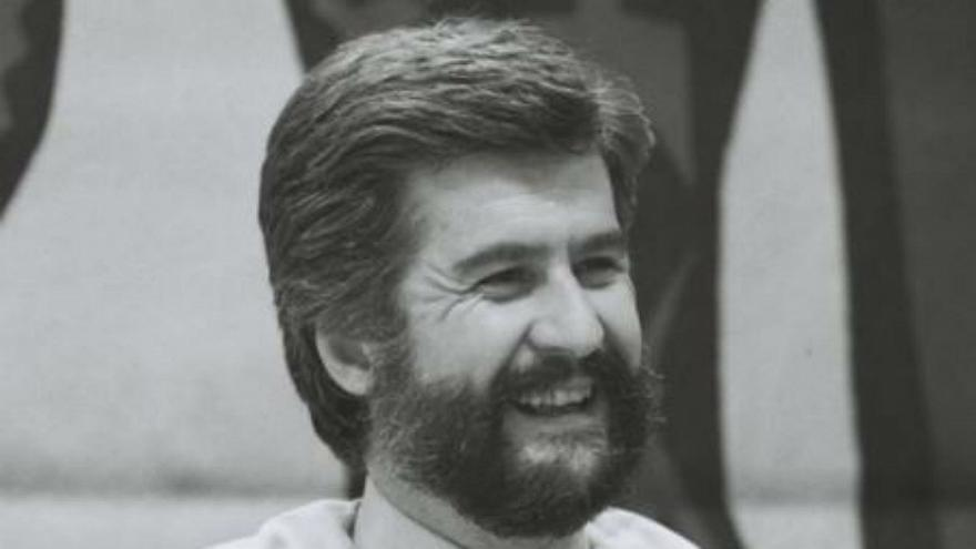 Manuel Marin in his office at the European Commission in 1992