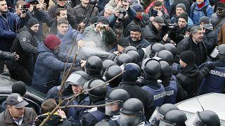 Саакашвили вырвался из машины СБУ