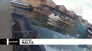 Мальта: спецоперация по задержанию подозреваемых в убийстве журналистки