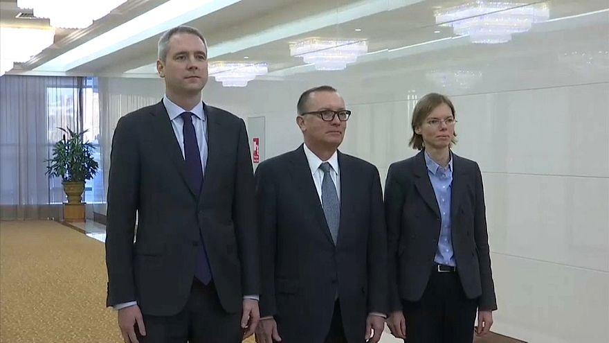 Diplomata da ONU visita Coreia do Norte
