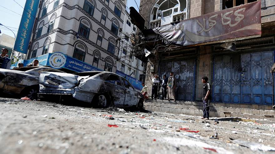 Yemen calm after a night of bombing