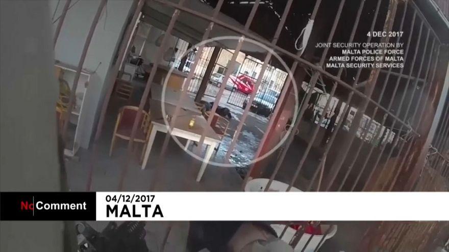Polícia partilha imagens da investigação do assassinato da jornalista maltesa