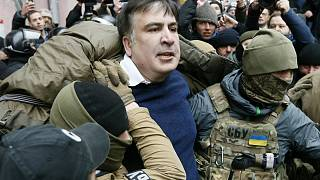 Ουκρανία: Επεισοδιακή σύλληψη του Σαακασβίλι